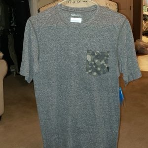 Columbia Sportswear T-Shirt with Camo Pocket